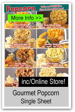 Popcorn Single Sheet Brochure