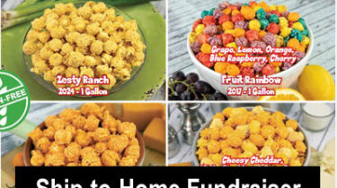 Ship-to-Home Popcorn Fundraiser