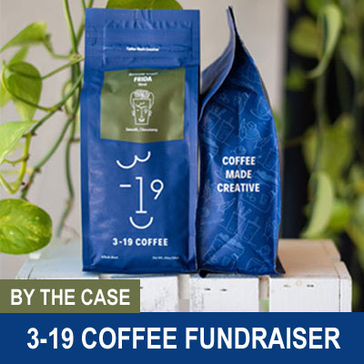 3-19 Coffee Fundraiser, by the Case