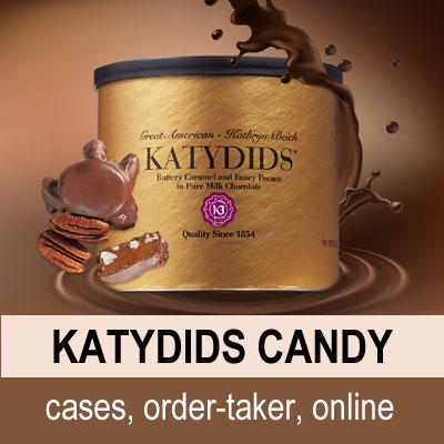 Katydids Candy - cases, order-taker, online