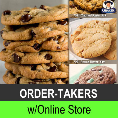 Order-Takers with Online Store