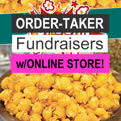 Order-Taker Fundraisers with Online Store