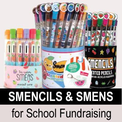 Smencils and Smens for School Fundraising