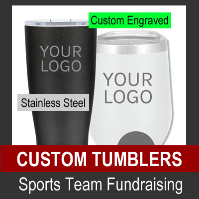 Custom Tumblers - Sports Team Fundraising