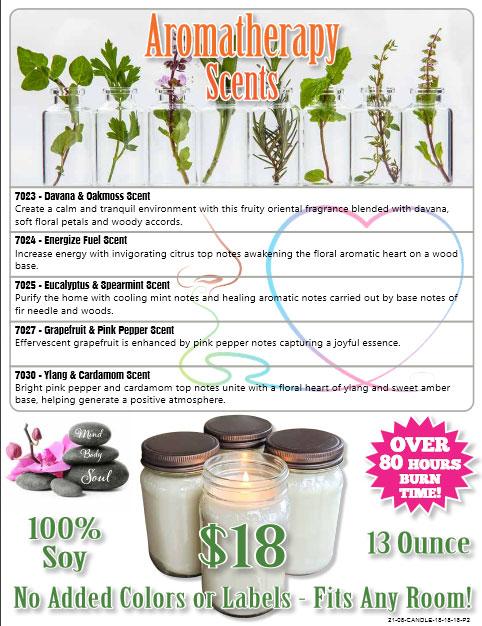 Candle Order-Taker Brochure - Pg 2