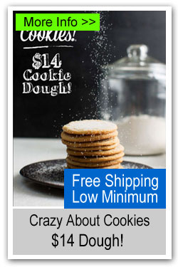 Crazy About Cookies - $14 Cookie Dough
