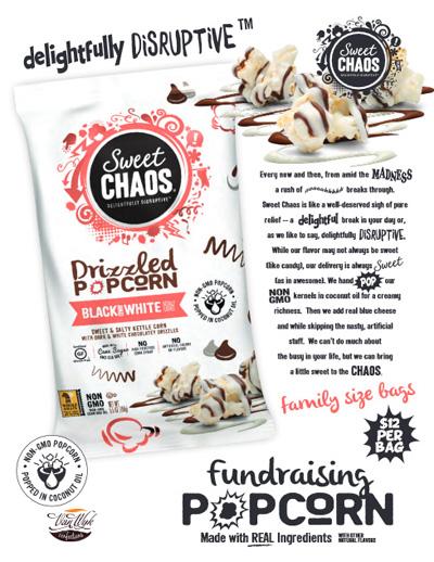 Chaos Popcorn Brochure Fundraiser