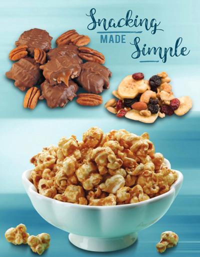 Snacks Brochure Fundraiser